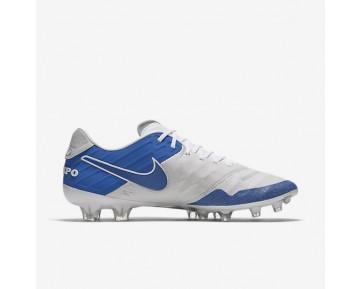 Chaussure Nike Tiempo Legend Vi Se Fg Pour Homme Football Blanc Sommet/Blanc/Noir/Bleu Royal_NO. 835364-141