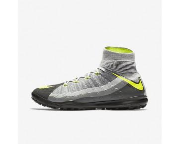 Chaussure Nike Hypervenomx Proximo Ii Dynamic Fit Tf Pour Homme Football Noir/Gris Foncé/Gris Loup/Volt_NO. 852576-071