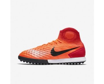 Chaussure Nike Magistax Proximo Ii Tf Pour Homme Football Cramoisi Total/Rouge Université/Rose Atomique/Noir_NO. 843958-805