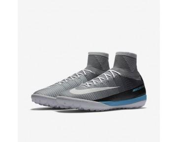Chaussure Nike Mercurialx Proximo Ii Tf Pour Homme Football Gris Loup/Platine Pur/Bleu Laser/Blanc_NO. 831977-010