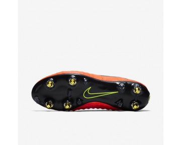 Chaussure Nike Magista Obra Sg-Pro Anti Clog Traction Pour Homme Football Cramoisi Total/Rouge Université/Mangue Brillant/Noir_NO. 869482-806