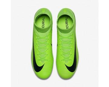 Chaussure Nike Mercurial Veloce Iii Dynamic Fit Ag-Pro Pour Homme Football Vert Électrique/Citron Flash/Blanc/Noir_NO. 831960-303