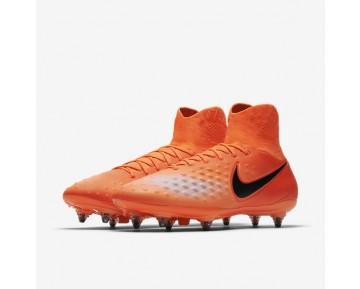 Chaussure Nike Magista Orden Ii Sg Pour Homme Football Cramoisi Total/Rouge Université/Mangue Brillant/Noir_NO. 844521-806