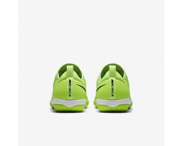 Chaussure Nike Mercurialx Finale Ii Ic Pour Homme Football Citron Flash/Blanc/Gomme Marron Clair/Noir_NO. 831974-301