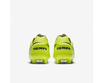 Chaussure Nike Tiempo Mystic V Fg Pour Homme Football Volt/Volt/Noir_NO. 819236-707