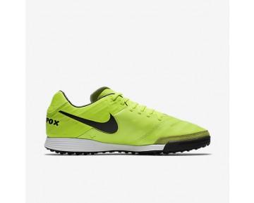 Chaussure Nike Tiempo Mystic V Tf Pour Homme Football Volt/Volt/Noir_NO. 819224-707
