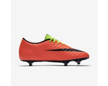 Chaussure Nike Hypervenom Phade 3 Sg Pour Homme Football Vert Électrique/Hyper Orange/Volt/Noir_NO. 852544-308