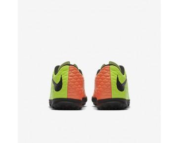 Chaussure Nike Hypervenomx Phade 3 Tf Pour Homme Football Vert Électrique/Hyper Orange/Volt/Noir_NO. 852545-308