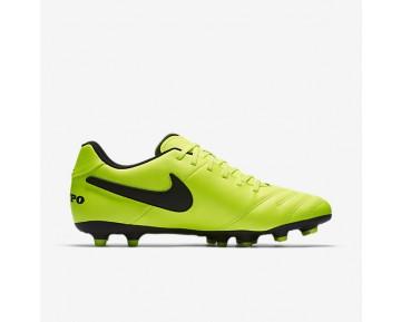 Chaussure Nike Tiempo Iii Fg Pour Homme Football Volt/Volt/Noir_NO. 819233-707