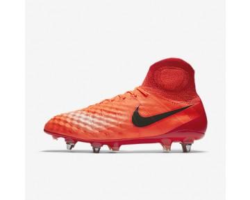 Chaussure Nike Magista Obra Ii Sg-Pro Pour Homme Football Cramoisi Total/Rouge Université/Mangue Brillant/Noir_NO. 844596-806