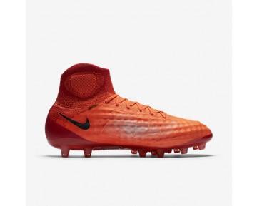 Chaussure Nike Magista Obra Ii Ag-Pro Pour Homme Football Cramoisi Total/Rouge Université/Mangue Brillant/Noir_NO. 844594-806