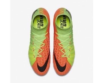 Chaussure Nike Hypervenom Phantom 3 Df Sg-Pro Pour Homme Football Vert Électrique/Hyper Orange/Volt/Noir_NO. 852553-308