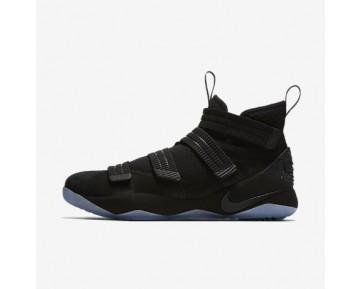 Chaussure Nike Lebron Soldier Xi Pour Homme Basketball Noir/Noir_NO. 897646-001