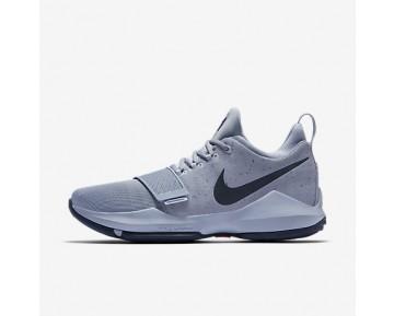 Chaussure Nike Pg1 Pour Homme Basketball Gris Glacier/Bleu Arsenal/Rose Coureur/Bleu Nuit Marine_NO. 878627-044