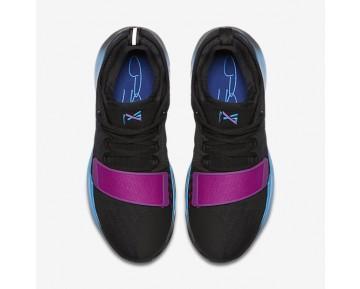 Chaussure Nike Pg1 Pour Homme Basketball Noir/Bleu Photo/Bleu Fureur/Bleu Royal Profond_NO. 878627-003