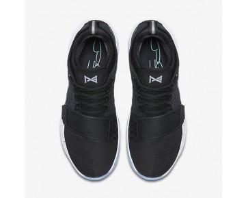 Chaussure Nike Pg1 Pour Homme Basketball Noir/Blanc/Hyper Turquoise/Noir_NO. 878627-001