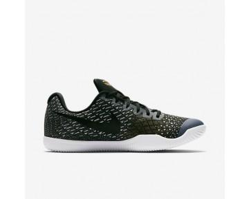 Chaussure Nike Kobe Mamba Instinct Pour Homme Basketball Noir/Gris Loup/Or Métallique/Blanc_NO. 852473-010