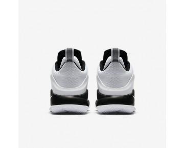 Chaussure Nike Lebron Witness Pour Homme Basketball Blanc/Noir/Gris Loup/Or Métallique_NO. 852439-102