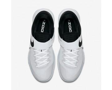 Chaussure Nike Zoom Live 2017 Pour Homme Basketball Blanc/Or Métallique/Platine Pur/Noir_NO. 852421-107
