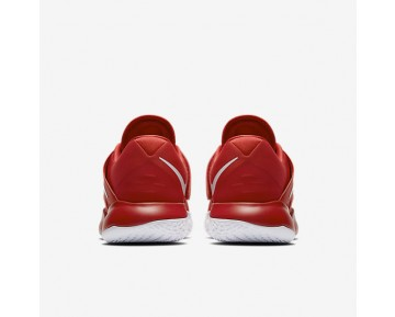 Chaussure Nike Zoom Live 2017 Pour Homme Basketball Rouge Université/Rouge Sportif/Platine Pur/Blanc_NO. 852421-606