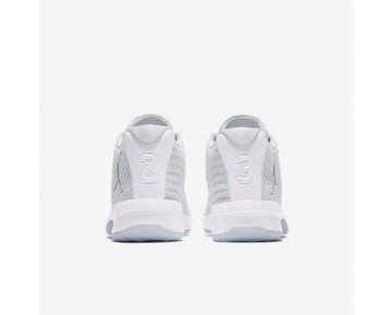 Chaussure Nike Jordan B. Fly Pour Homme Basketball Blanc/Platine Pur/Gris Loup_NO. 881444-100