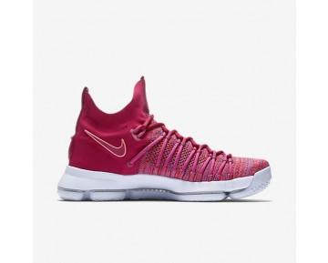 Chaussure Nike Zoom Kd 9 Elite Pour Homme Basketball Rouge Université/Rouge Noble/Violet Plus Pâle_NO. 878637-666