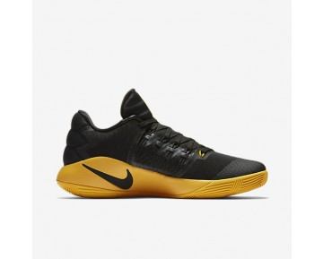 Chaussure Nike Hyperdunk 2016 Low Pour Homme Basketball Noir/Gris Foncé/Or Université_NO. 844363-070