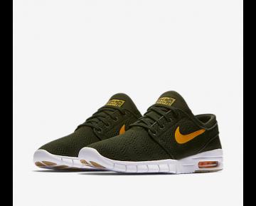 Chaussure Nike SB STEFAN JANOSKI MAX CHAUSSURE DE SKATEBOARD POUR HOMME Séquoia/Gomme marron clair/Orange_NO. 631303-389